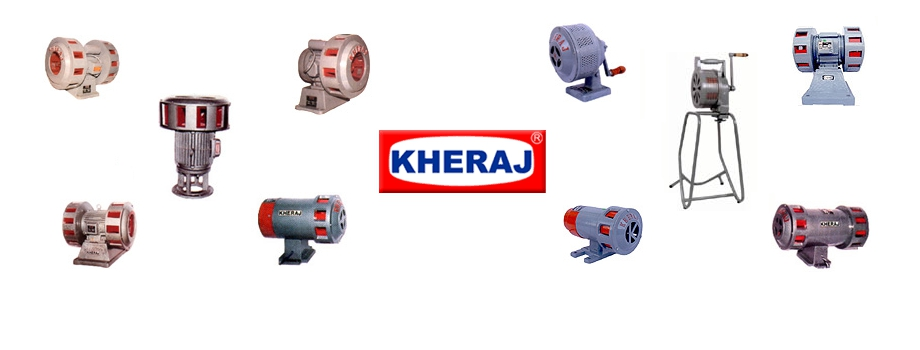 Electrical Sirens, Pure AC Sirens, Battery Operated Sirens, Hand Operated Sirens, Electronic Sirens, Flame Proof Sirens